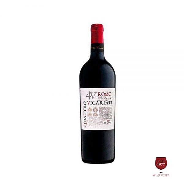 Rượu Vang Quattro – Vang Ý Nhập Khẩu Giá Tốt
