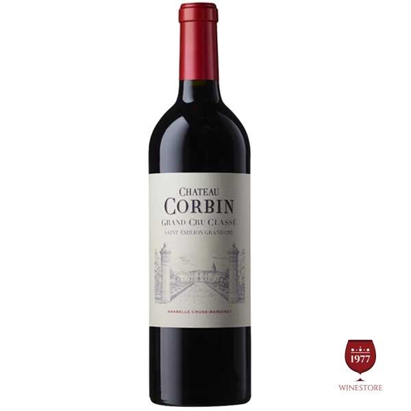 Rượu Vang Chateau Corbin – Vang Pháp Cao Cấp Saint-Emilion