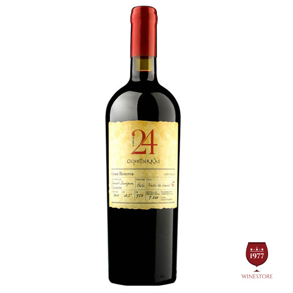 Rượu Vang Chile Cao Cấp Ocho Tierras 24 Gran Reserva