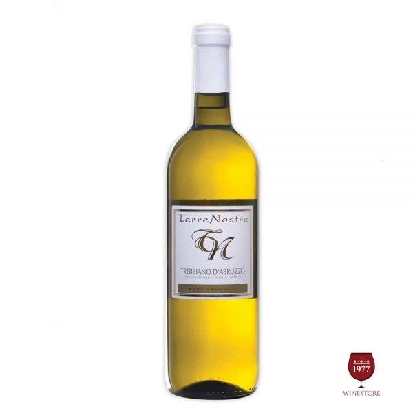 Rượu Vang Terre Nostre White – Vang Ý Giá Tốt Nhập Khẩu