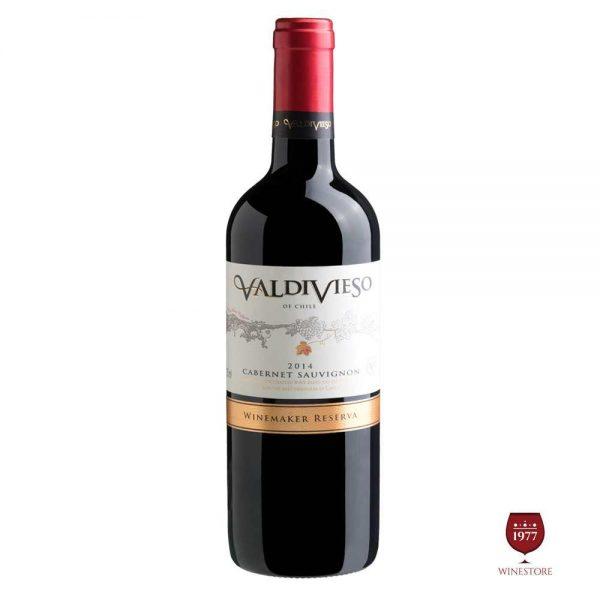 Rượu Vang Valdivieso Winemaker Reserva Cabernet Sauvignon – Chile