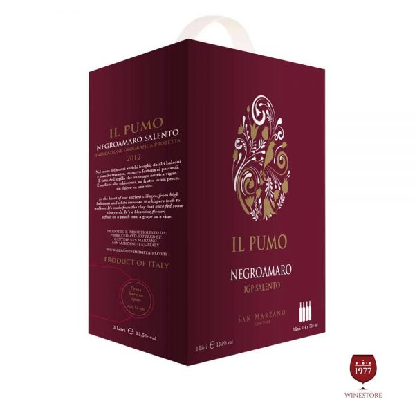 Rượu Vang Bịch IL Pumo – Vang Bịch Quà Tết