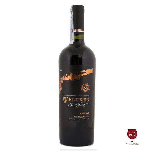 Rượu Vang Weluken CS Reserve – Vang Chile Nhập Khẩu Giá Tốt