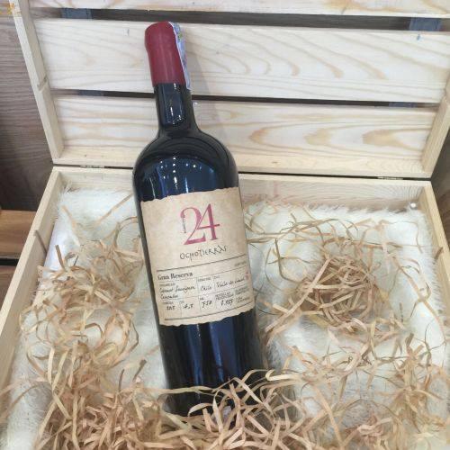 đặc điểm của rượu vang ocho tierras 24