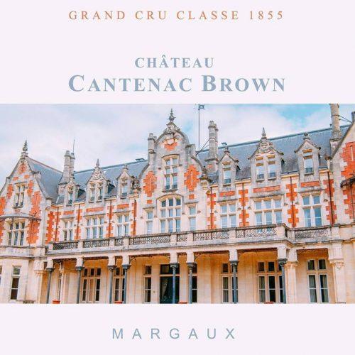 giới thiệu rượu vang chateau cantenac brown