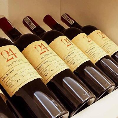giới thiệu rượu vang Ocho Tierras 24