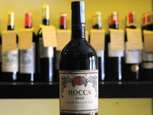 giới thiệu rượu vang rocca