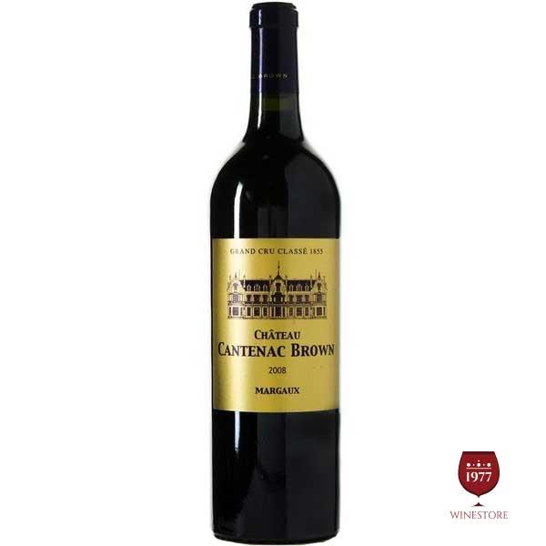 Rượu Vang Pháp Cao Cấp Chateau Cantenac Brown