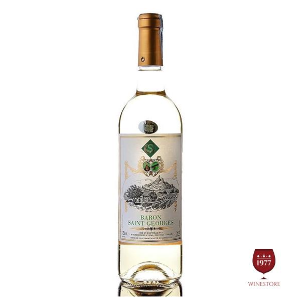 Rượu Vang Baron Saint Geoges White – Vang Pháp Giá Tốt Chất Lượng