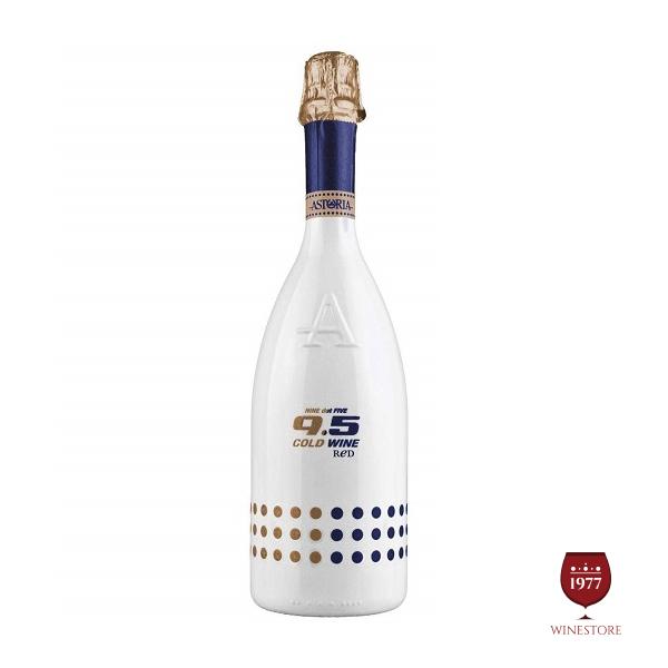 Rượu Vang Nổ 9.5 Cold Wine Sweet Red – Vang Nổ Ý