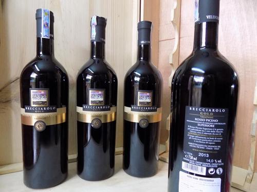 sản xuất rượu vang brecciarolo gold