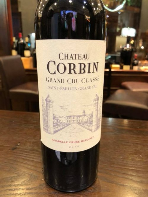 sản xuất rượu vang chateau corbin