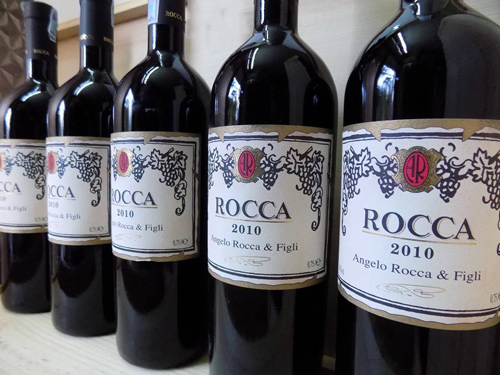 sản xuất rượu vang Ý Rocca