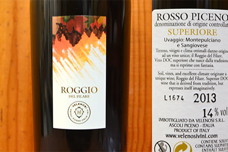 sản xuất rượu vang Ý Roggio