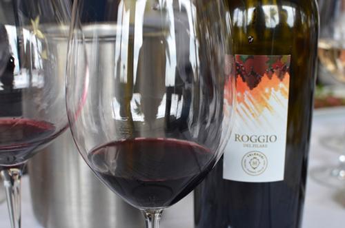 thưởng thức vang Ý Roggio