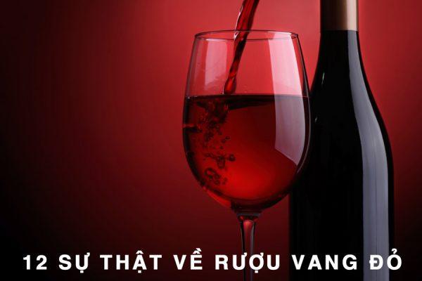 12 sự thật ngạc nhiên về rượu vang đỏ