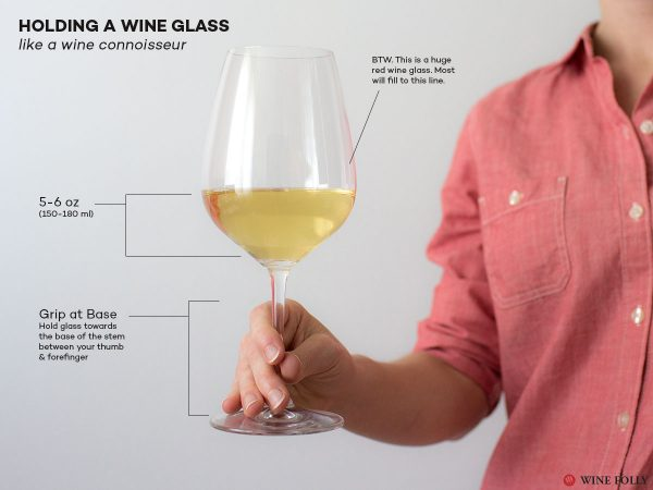 Hướng dẫn cách cầm ly rượu vang đúng cách – [Chuẩn Văn Minh]