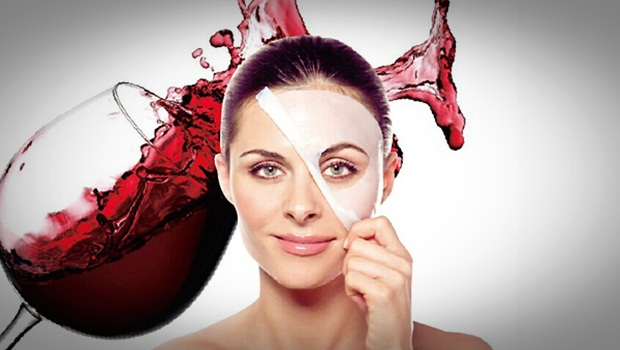 tác dụng làm đẹp của rượu vang đỏ