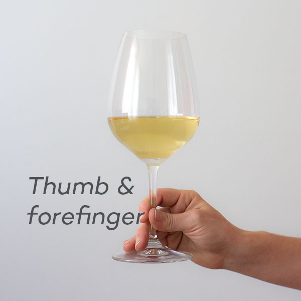 thumb-and-forefinger