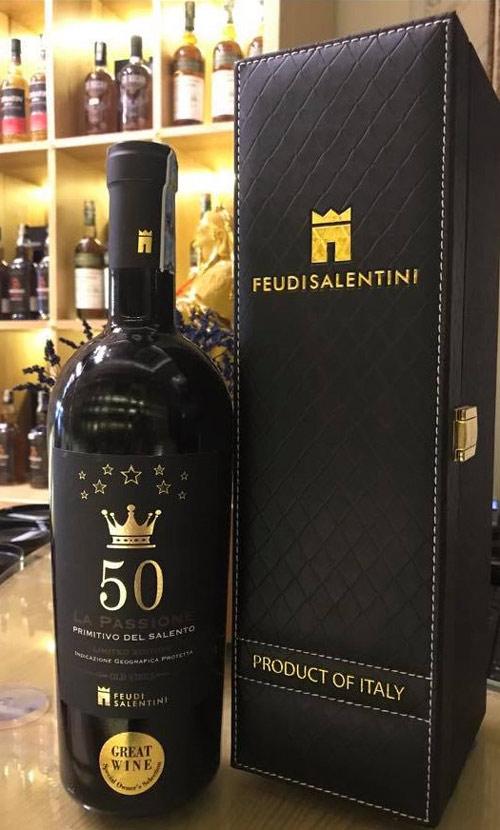 giá bán rượu vang 50 la passione