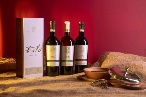 rượu vang ý giá rẻ talo negroamaro