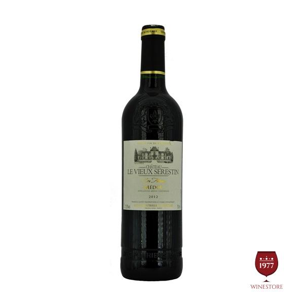 Rượu Vang Chateau Le vieux Serestin – Vang Pháp Nhập Khẩu