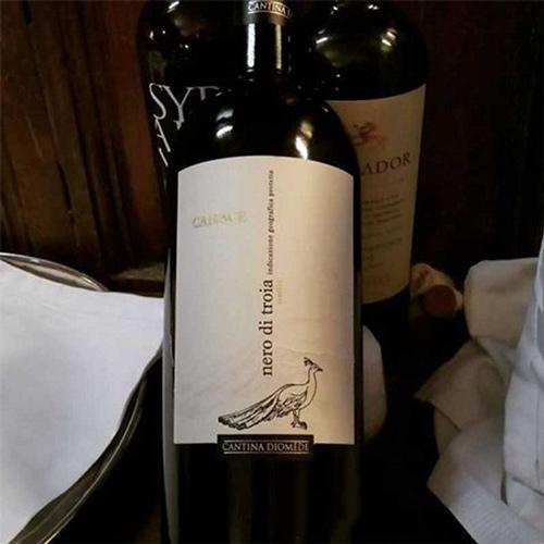 đặc điểm rượu vang Canace Nero di Troia