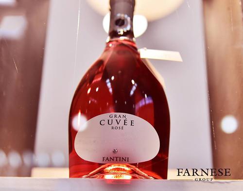 giới thiệu rượu vang Fantini Gran Cuvee Rose