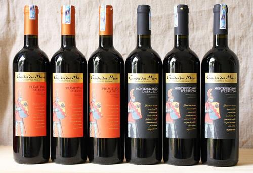 giới thiệu rượu vang Guardia dei Mori Primitivo