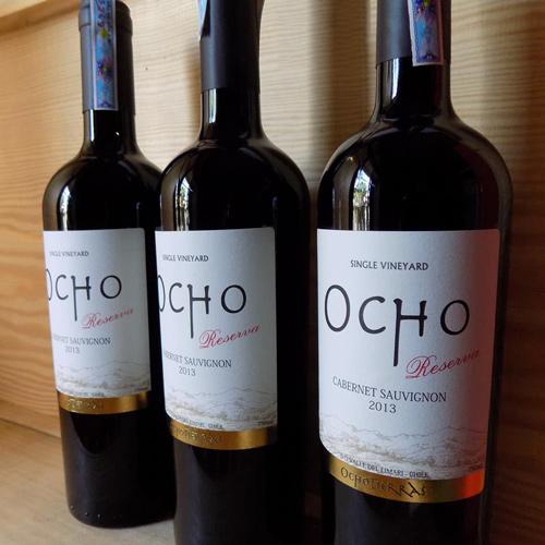 giới thiệu rượu vang Ocho Tierras Reserva