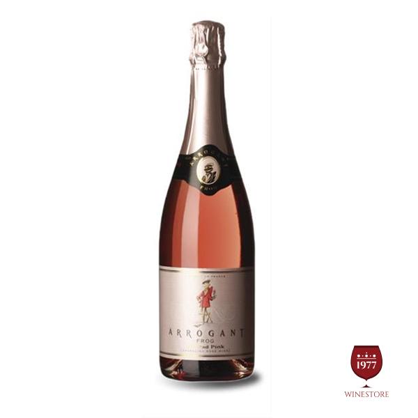 Rượu Vang Arrogant Sparkling Rose – Mua Vang Nổ Pháp Giá Tốt