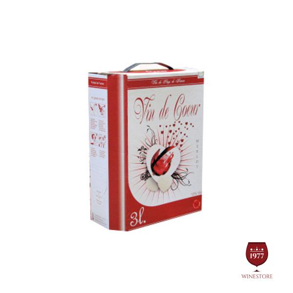 Rượu Vang Bịch Vin De Cour 3L – Mua Vang Bịch Pháp Giá Tốt