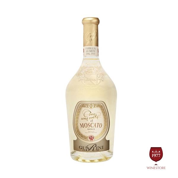 Rượu Vang Cera una Volta Moscato Frizzante – Vang Ý Cao Cấp