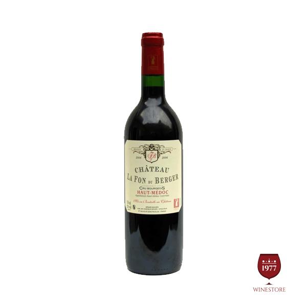 Rượu Vang Chateau La Fon Du Berger – Mua Vang Pháp Nhập Khẩu