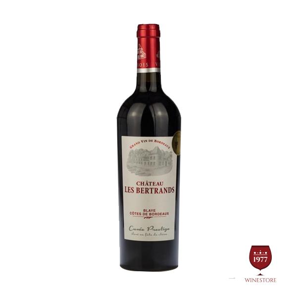 Rượu Vang Chateau Les Bertrands – Mua Vang Pháp