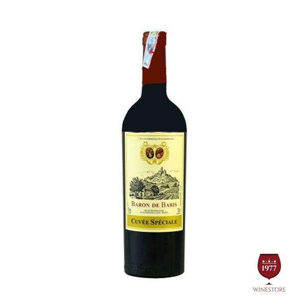 Rượu Vang Baron De Baris – Mua Vang Pháp Thượng Hạng
