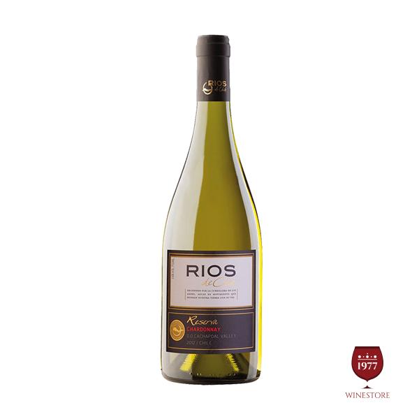 Rượu Vang Rios Gran Reserva Chardonnay – Vang Trắng Chile Ngon