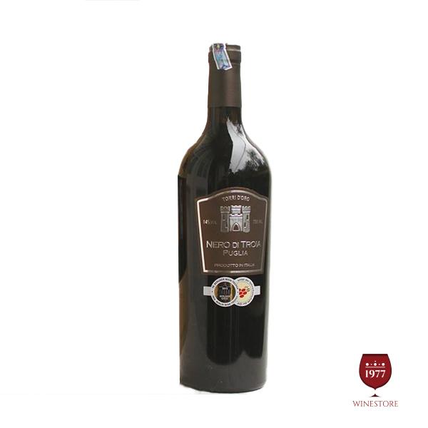 Rượu Vang Torrid Oro Nero di Troia – Vang Chile Nhập Khẩu