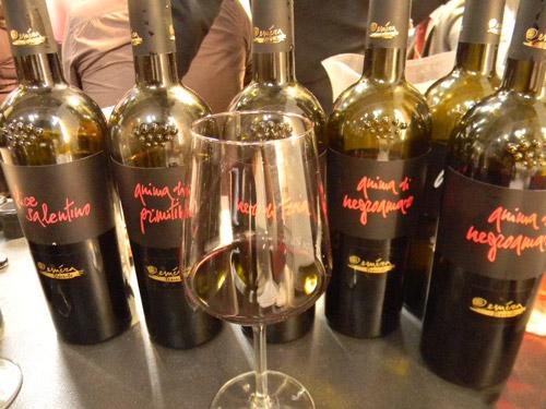 thưởng thức rượu vang Anima di Negroamaro