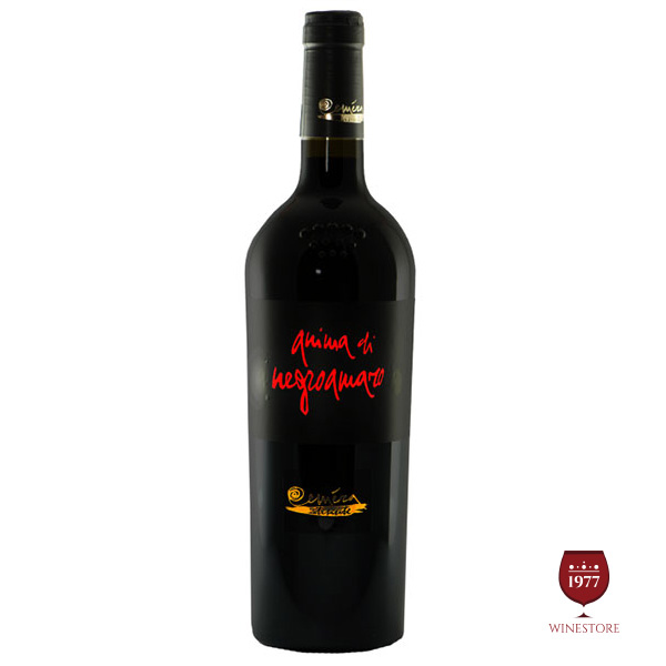 Rượu Vang Anima di Negroamaro – Vang Ý Puglia Nổi Tiếng