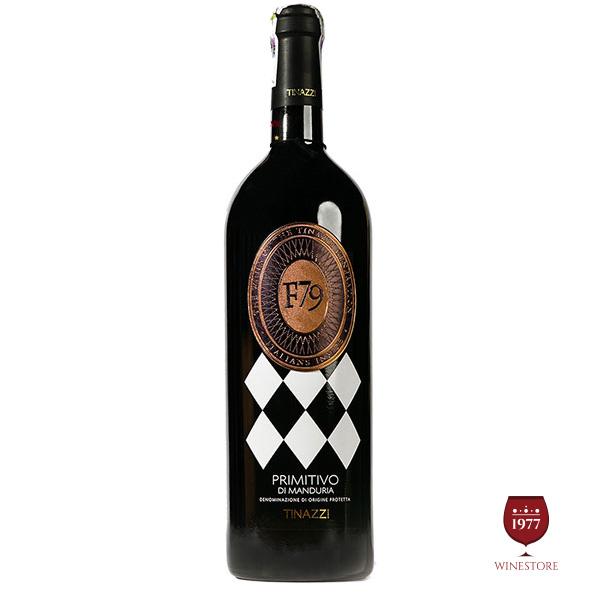 Rượu Vang F79 2010 Primitivo di Manduria