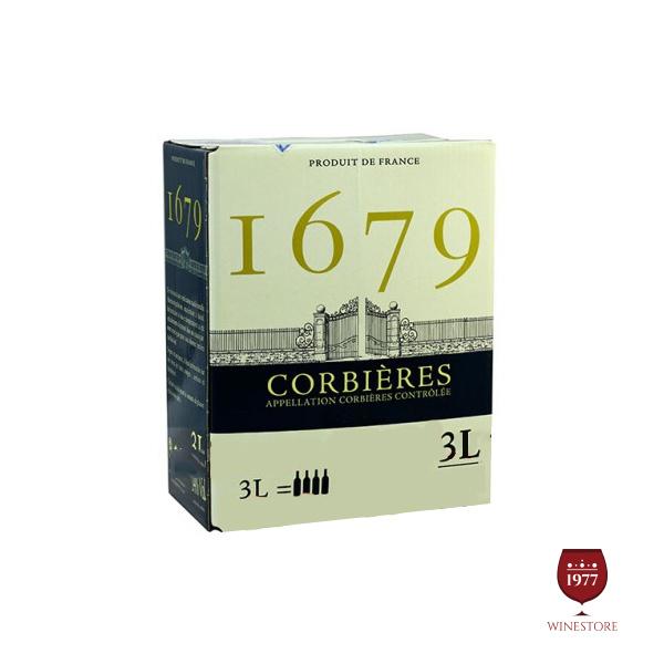 Rượu Vang Bịch I679 Corbieres – Vang Bịch Pháp Nhập Khẩu