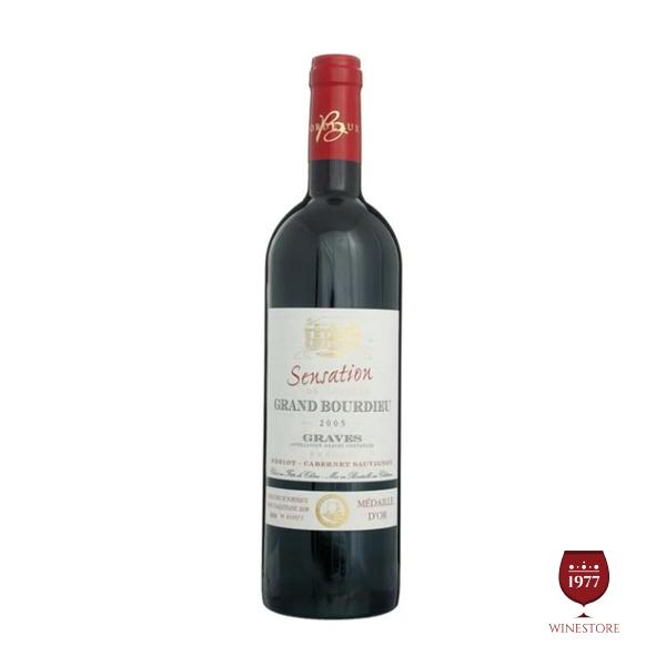Rượu Vang Sensation de Chateau Grand Bourdieu – Vang Pháp Giá Tốt