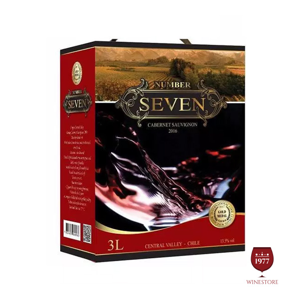 Rượu Vang Bịch Number Seven – Mua Vang Bịch Chile