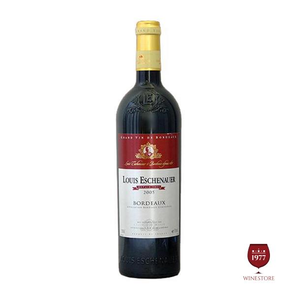 Rượu Vang Bordeaux Louis Eschenauer Barriq Đỏ – Vang Pháp Giá Tốt