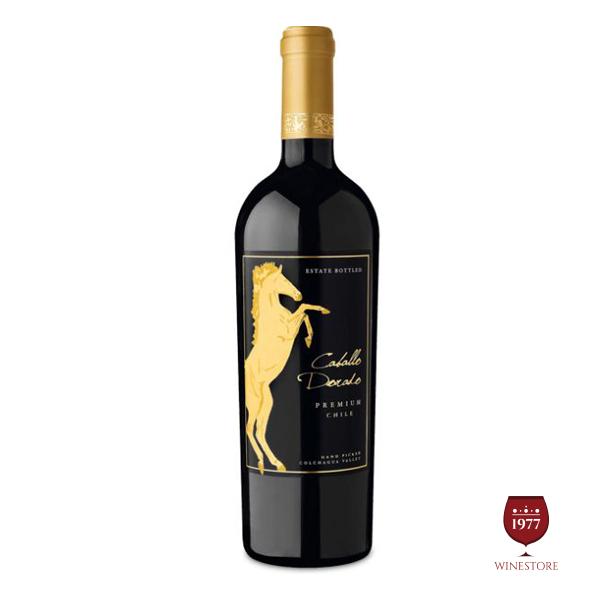 Rượu Vang Caballo Dorado Premium – Vang Chile Cao Cấp Thượng Hạng
