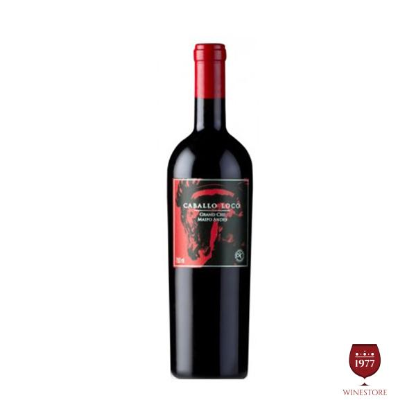 Rượu Vang Caballo Loco Grand Cru Maipo – Vang Chile Nhập Khẩu