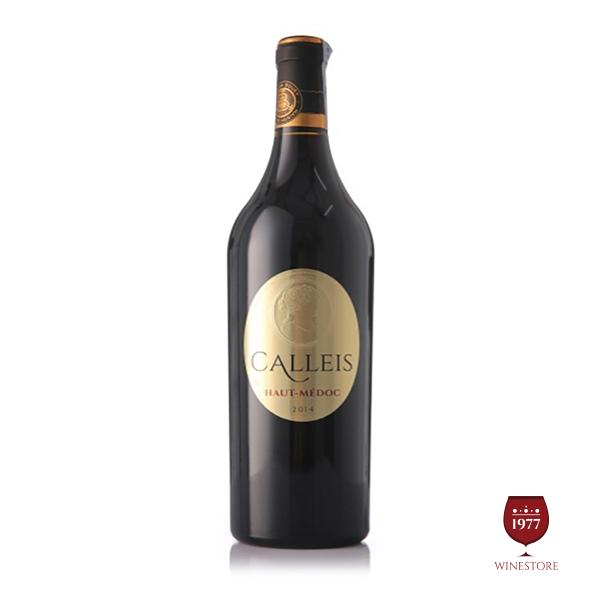 Rượu Vang Calleis Haut Medoc AOC – Vang Pháp Nhập Khẩu Cao Cấp
