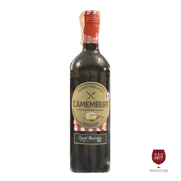Rượu Vang Camembert Syrah Marsenlan VDP – Vang Pháp Nhập Khẩu
