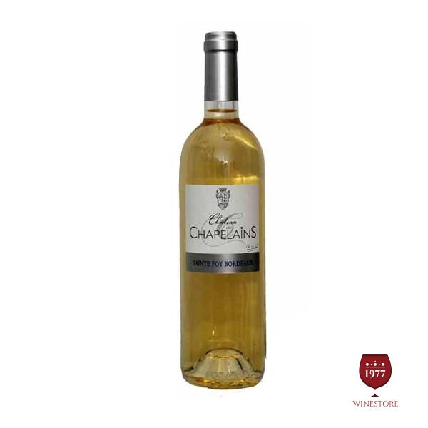 Rượu Vang Chateau Des Chapelains White – Mua Vang Pháp Giá Tốt